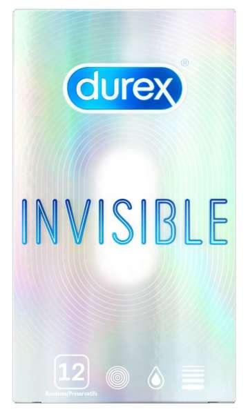 Durex Invisible extra dünn12er
