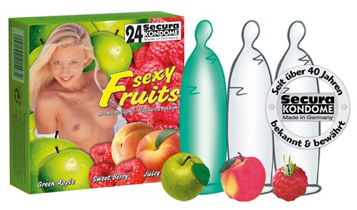 Secura Sexy Fruits 24er