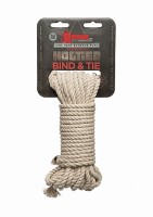 Hogtied - Bind & Tie - 6mm Hemp Bondage Rope - 30 Feet
