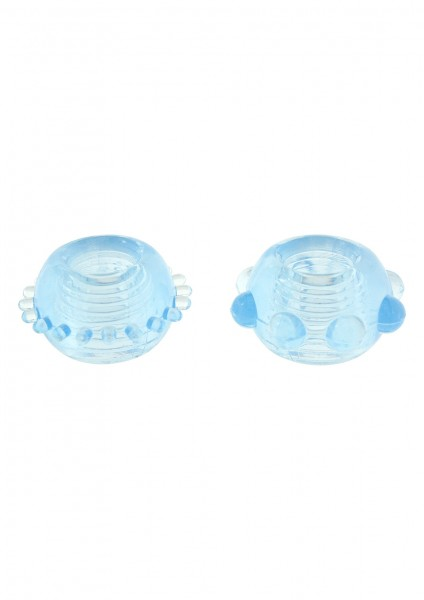 POWER STRETCHY RINGS BLUE 2PCS