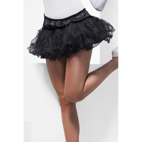 Fever – Petticoat aus Tüll in Schwarz