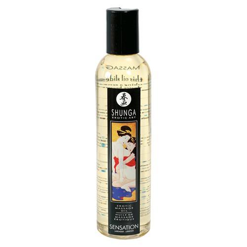 Shunga - Massageöl Sensation