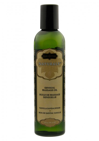 MASSAGE OIL VANILLA SANDELWOOD236ML