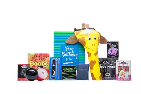 """Box """"Sexy Birthday Surprises For Him"""""""