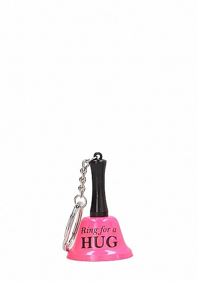 Ring For A Hug - Keyring - Pink
