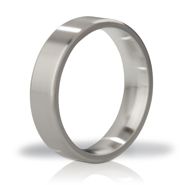 Mystim   His Ringness Duke Brushed 55mm