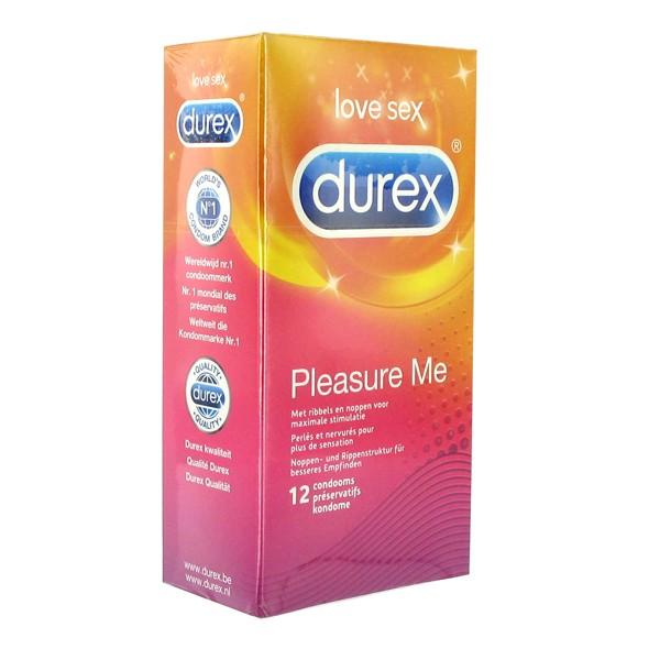 Durex   Pleasure Me Condoms 12 st.