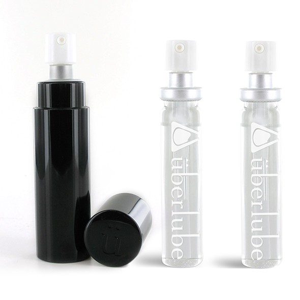 Uberlube - Good-To-Go Black & Refills