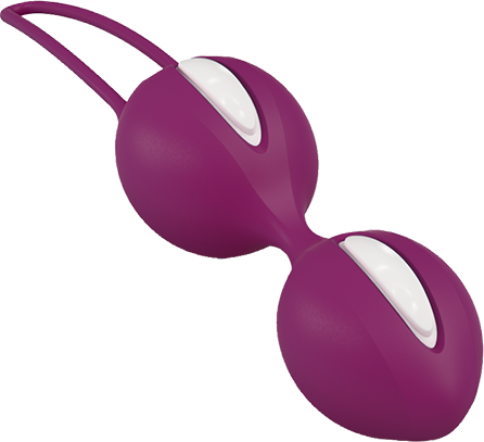 Fun Factory SMARTBALLS DUO White/Grape - 2 Liebeskugel