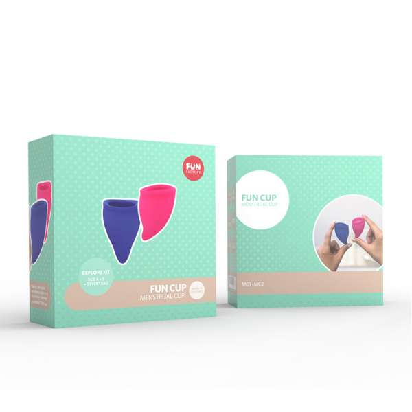 Fun Factory - Fun Cup Explorer Kit - Menstruationsstrasse