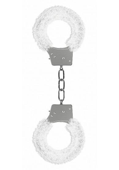 Beginner's Handcuffs Furry - White