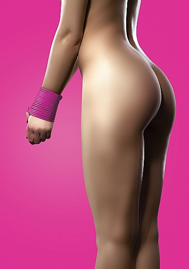 Silicone Rope - Pink