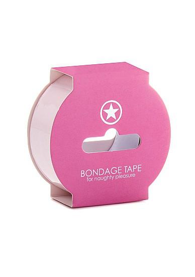 Non Sticky Bondage Tape - 17;5 meter - Light Pink