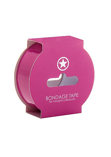 Non Sticky Bondage Tape - 17;5 Meter - Pink