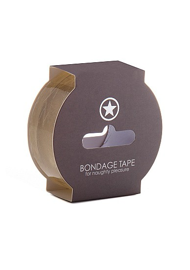 Non Sticky Bondage Tape - 17;5 Meter - Transparent