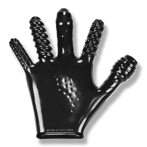Finger Fuck Handschühe - Schwarz