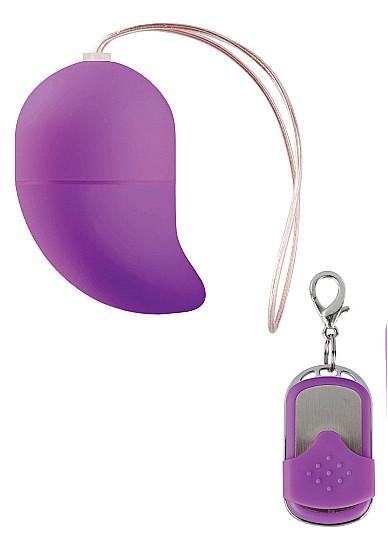 Vibrating G-spot Egg - Small - Purple