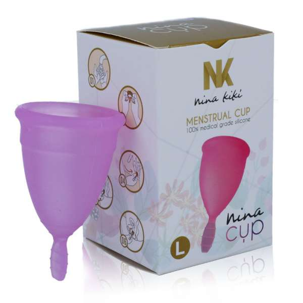 NINA CUP MENSTRUAL CUP SIZE PURPLE L